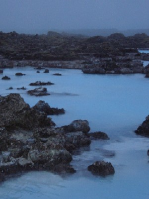 The Blue Lagoon hot spring